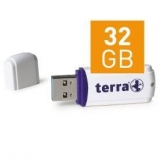 TERRA USThree USB3.0 32GB white Read/Write ~120/15 (2191278)