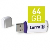 TERRA USThree USB3.0 64GB white Read/Write ~120/15 (2191727)