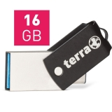 TERRA USThree A+C USB3.1  16GB black Read/Write ~ (2190000)