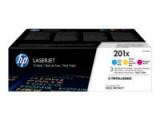 HP 201X Original LaserJet Toner Cyan/Magenta/Gelb Hohe Kapazität (3-pack)