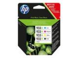 HP 932XL/933XL Tinte schwarz und dreifarbig hohe Kapazität Multipack